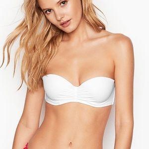 Victoria Secret SWIM - White Strapless Bandeau 32C